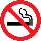 Vector de no fumadores Foto de archivo libre de regalías