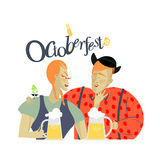 Vector de Oktoberfest libre illustration
