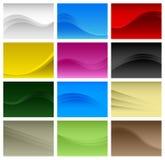 Vector de onda abstracto del fondo A4 Fotos de archivo libres de regalías