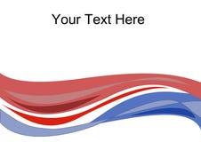 Vector de onda del texto Fotos de archivo libres de regalías