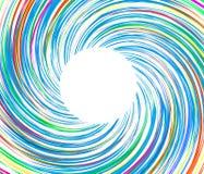 Vector de ondas del fondo de Whirlpool Fotos de archivo