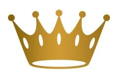 Vector de oro EPS del fondo de la corona Imagen de archivo libre de regalías