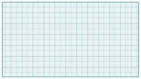 Vector de papel del milímetro azul Papel de representación gráfica gráficamente para la educación, proyectos de dibujo Medida clá ilustración del vector