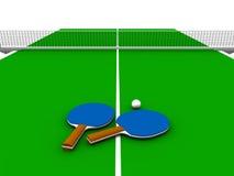 Vector de ping-pong. Fotos de archivo libres de regalías