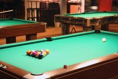 Vector de piscina de Billard Imagen de archivo