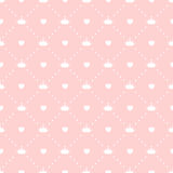 Vector de princesa Seamless Pattern Background Fotos de archivo