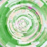 Vector de semitono abstracto del fondo del círculo ilustración del vector