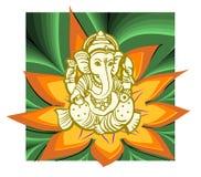 Vector de Shree Ganesha Foto de archivo libre de regalías
