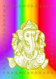 Vector de Shree Ganesha Fotos de archivo libres de regalías
