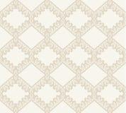 Vector de stoffen naadloos patroon van het kant Royalty-vrije Stock Fotografie