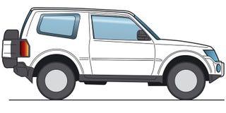 Vector de SUV foto de archivo libre de regalías