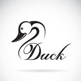 Vector de un diseño del pato Foto de archivo