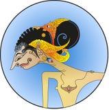Vector de Wayang, carácter de Puntadewa de las modificaciones Fotografía de archivo
