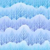 Vector de winterpatroon Stock Afbeeldingen
