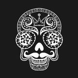 Vector  Dead Skull illustration, Hand drawn Skull in zentangle s Stock Photos