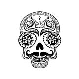 Vector  Dead Skull illustration, Hand drawn Skull  Stock Photo
