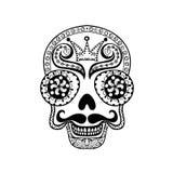 Vector  Dead Skull illustration, Hand drawn Skull  Stock Photo