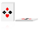 Vector deck of cards Royalty Free Stock Images