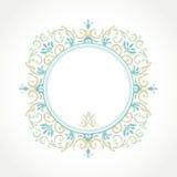 Vector decoratief kader in Victoriaanse stijl Royalty-vrije Stock Afbeeldingen