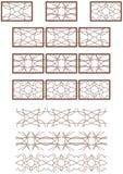 Vector decoratief ornament vector illustratie