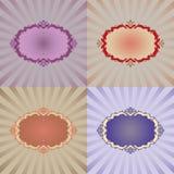 Vector decoratieframe Royalty-vrije Stock Afbeelding