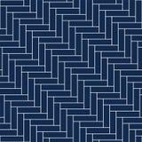 Vector decoratieve achtergrond - eenvoudig naadloos gepmetric patroon stock illustratie
