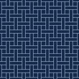 Vector decoratieve achtergrond - eenvoudig samless gepmetric patroon vector illustratie