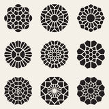 Vector Decoratieve Mandala Ornaments Illustration Royalty-vrije Stock Fotografie