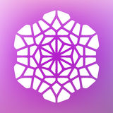 Vector Decoratieve Mandala Ornaments Illustration Stock Fotografie