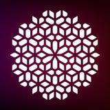 Vector Decoratieve Mandala Ornaments Illustration stock illustratie