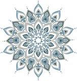 Vector decoratieve mandalaillustratie Vector Illustratie