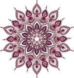 Vector decoratieve mandalaillustratie Royalty-vrije Illustratie