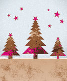 Vector decoration background for christmas gift wraps Stock Image