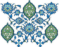 Vector decoration elements. Illustration of a vector decoration elements Royalty Free Stock Image