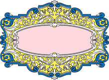 Vector decoration elements Royalty Free Stock Photo