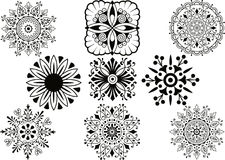 Vector decoration elements Stock Photo