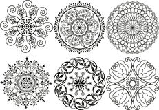 Vector decoration elements Stock Images
