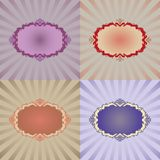 Vector decoration frame Royalty Free Stock Image