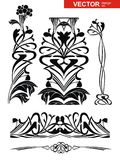 Vector decoration set Royalty Free Stock Photography
