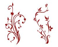 Vector decorations Royalty Free Stock Photography