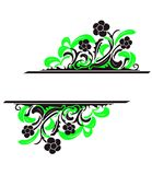 Vector decorations Stock Images