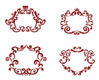 Vector decorations Royalty Free Stock Images