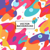 Vector decorative abstract background Stock Photos