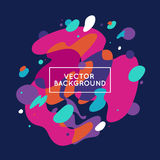 Vector decorative abstract background Royalty Free Stock Photos