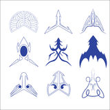 Vector of decorative arrow and pointer. Vector set of decorative for symbol  arrow Royalty Free Illustration