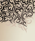 Vector decorative background Stock Image