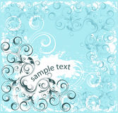 Vector decorative banner Royalty Free Stock Photos