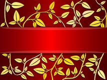 Vector decorative card Royalty Free Stock Photos