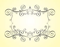 Vector decorative design element Stock Photo