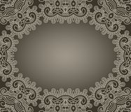 Vector decorative design element Royalty Free Stock Image